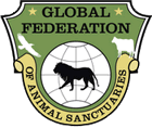 Verified member of the Global Federation of Animal Sanctuaries
